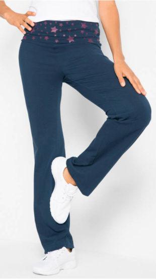 Úpletové športové dámske nohavice