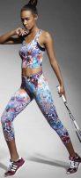 Legíny na šport a outdoorové aktivity vo farebnom dizajne