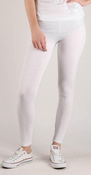 Lacné biele legíny Terranova