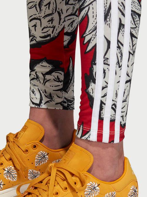 Farebné športové legíny Adidas